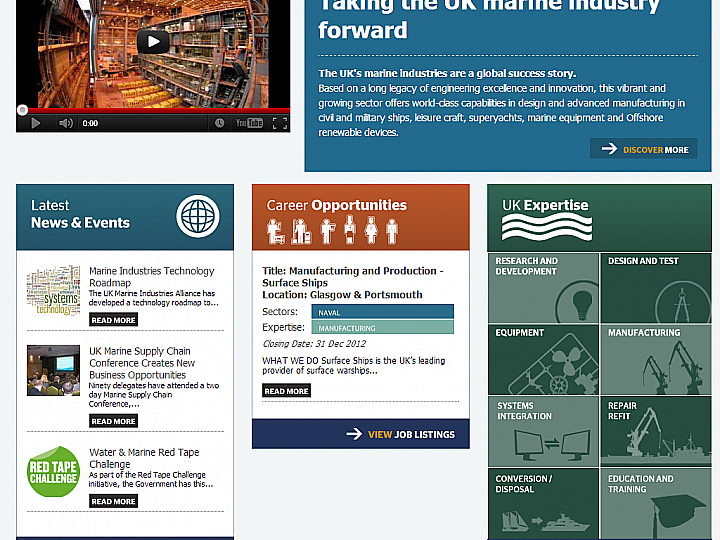 UK Marine Alliance - Home Page