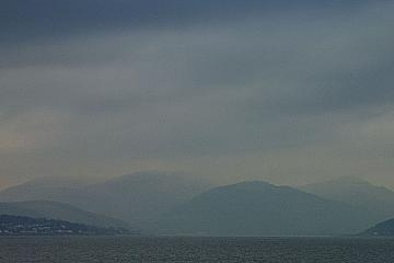 Dark Clouds Over Blairmore Hill, Argyle & Bute