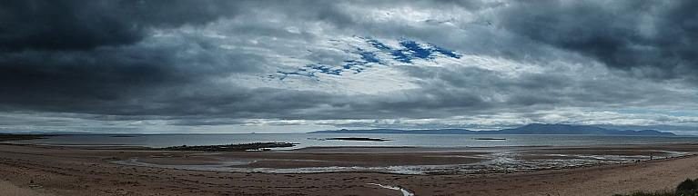 West Kilbride Beach Panorama